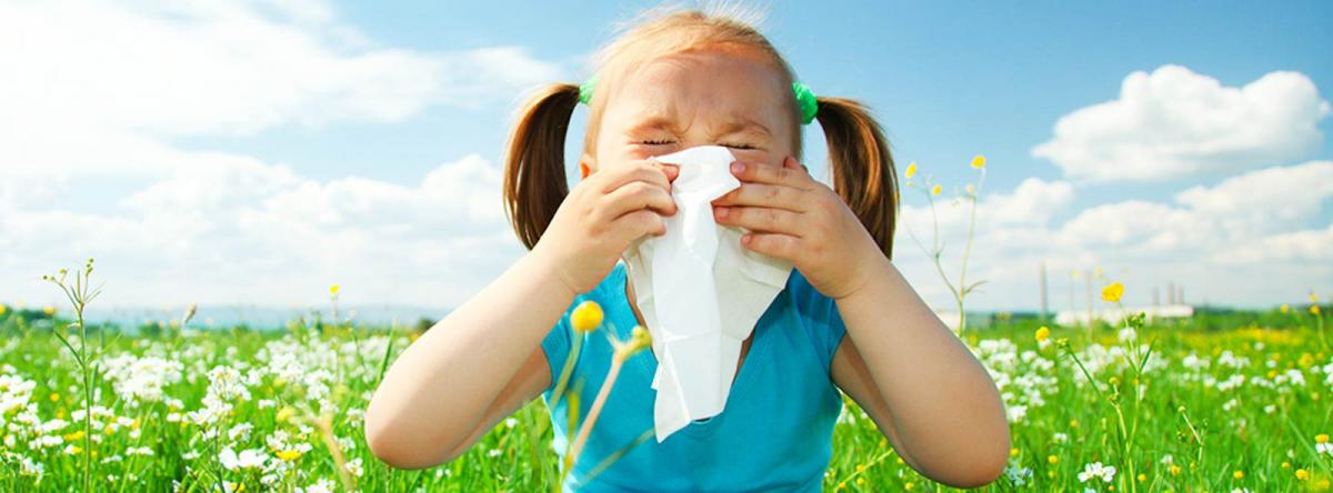 Asthma Allergy Center - Girl Sneezing